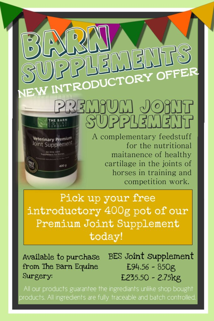 Joint supplement offer poster